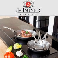 Сковорода для блинов de Buyer Mineral B Element French Collection 12см